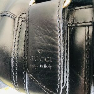 Gucci leather shoes